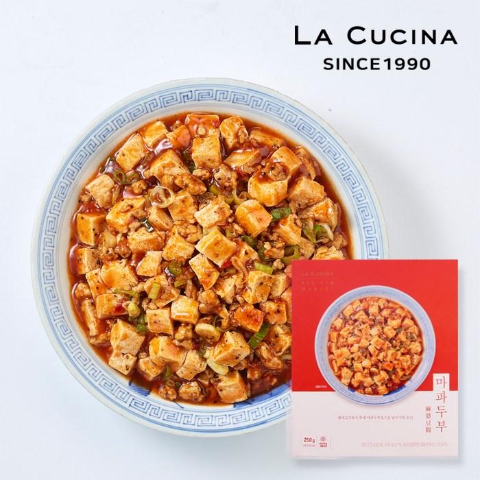[라쿠치나] 레시피앤마켓 중식 마파두부 250g, 1개
