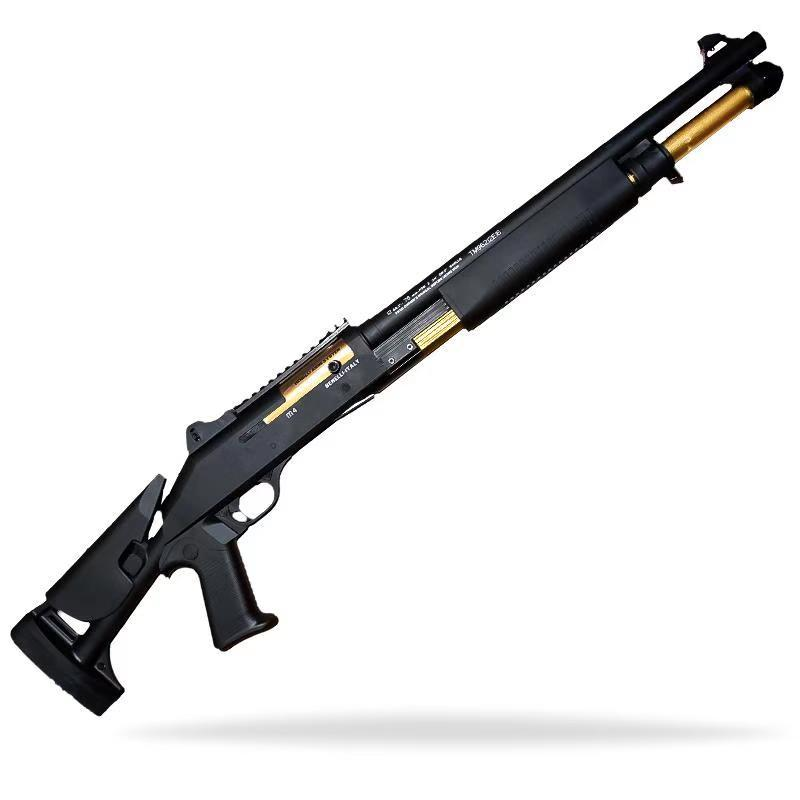 배틀그라운드총 UDL1014 젤리탄총 수정탄총 샷건 워게임, 2.블랙