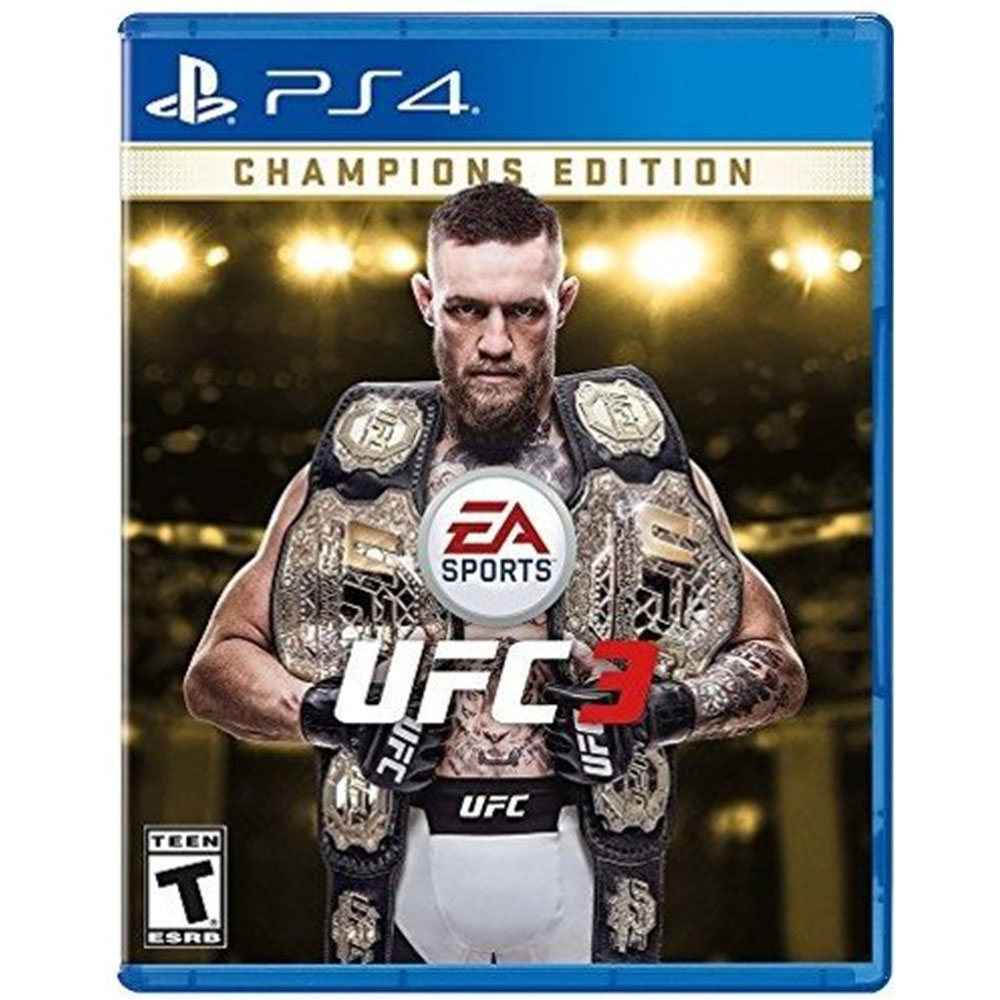UFC 3 Champions Edition 격투기 (PS4), 단일상품