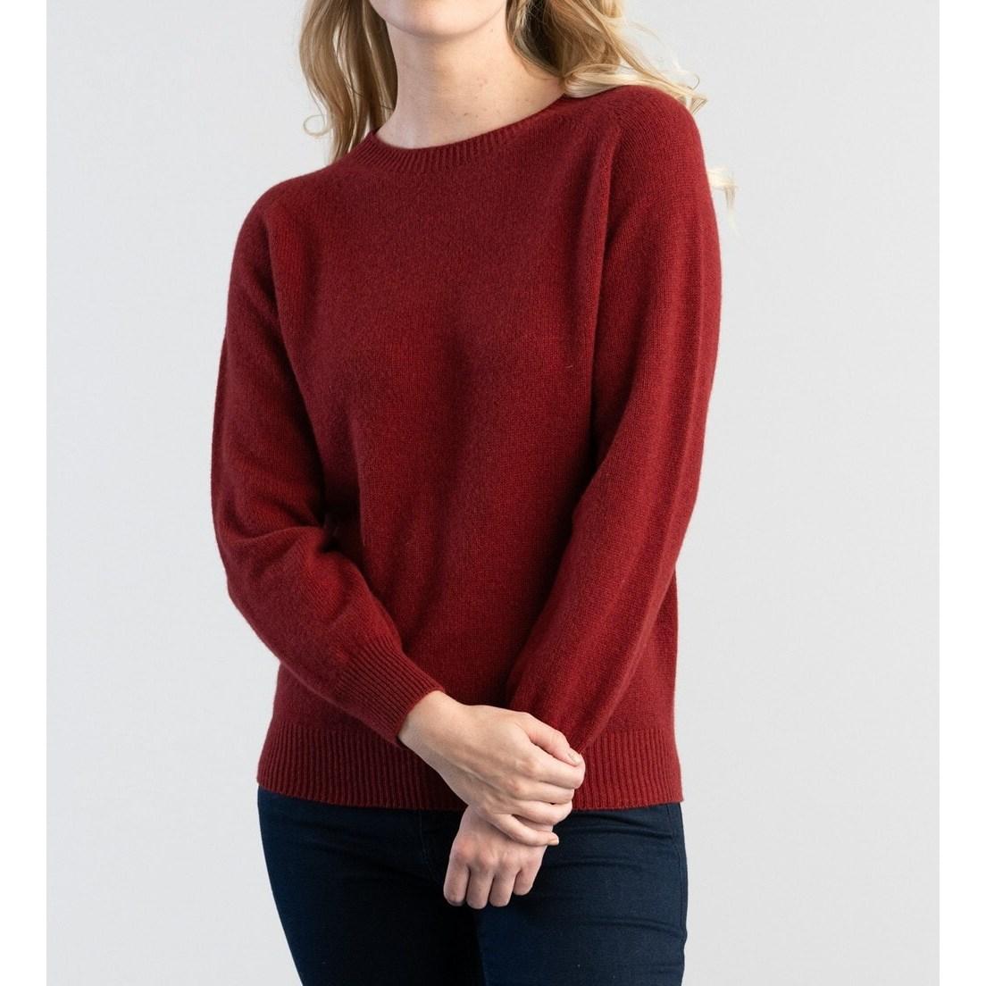 할리 오브 스코틀랜드 HARLEY OF SCOTLAND 여성 크루넥 스웨터 여자 니트