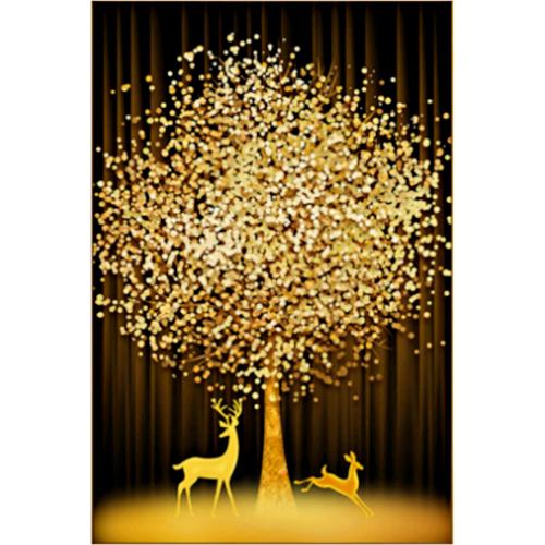 에이미몰 DIY 금전수 보석십자수 3D, 1세트, 6번 황금재물금전수 40X60cm+28구 보관함 사은품