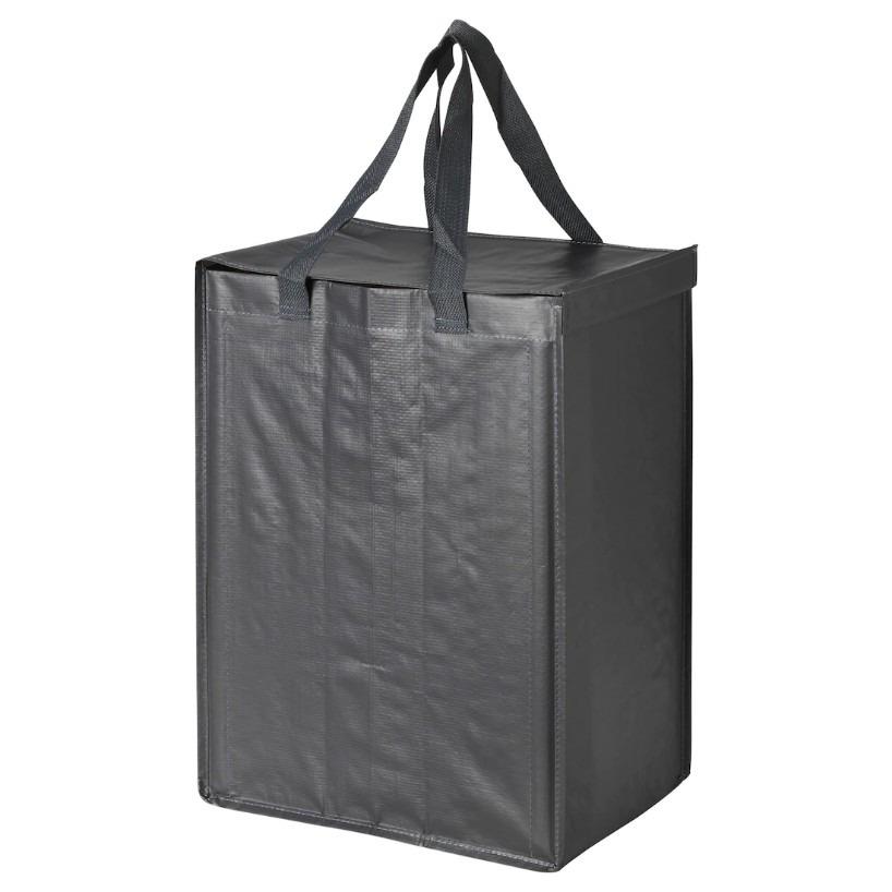 이케아 딤파 분리수거가방 다크그레이
