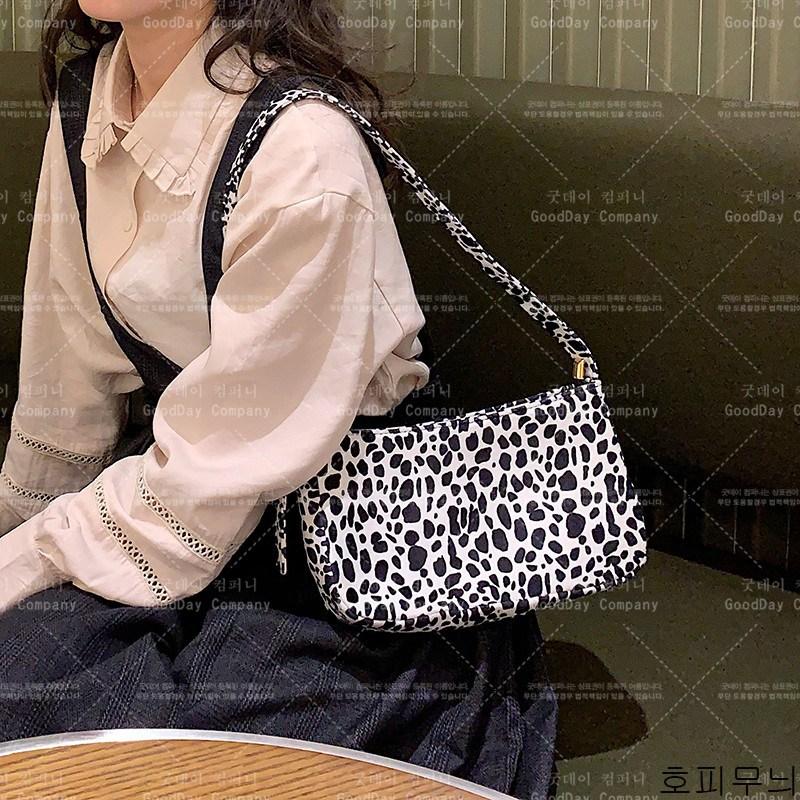 굿데이 컴퍼니 여성 패션 숄더백 호피무늬 크로스백 lDJB09
