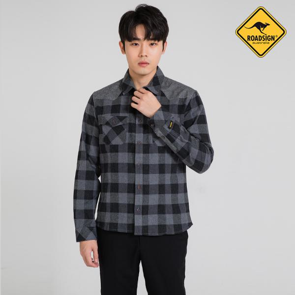 로드사인 [로드사인] P 유니 체크포켓 셔츠-RDSX702A_CH
