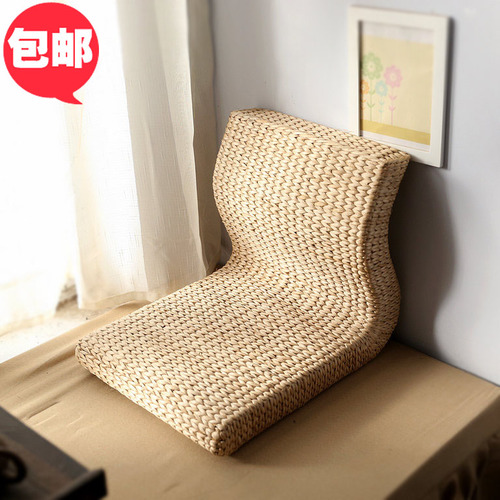 해외 등나무 엮은 다다미와 안장다리 의자 등받이 의자 슬립온-64979, 옵션02