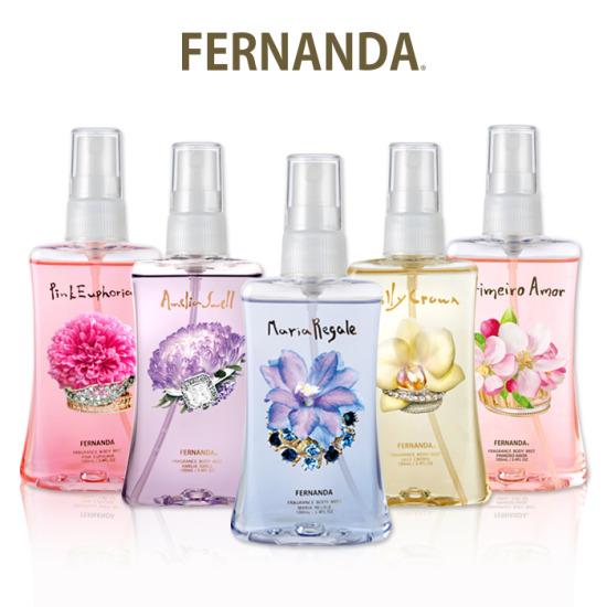 Fernanda 페르난다 향수 바디미스트, 향기선택:프리메이로아모르_미스트