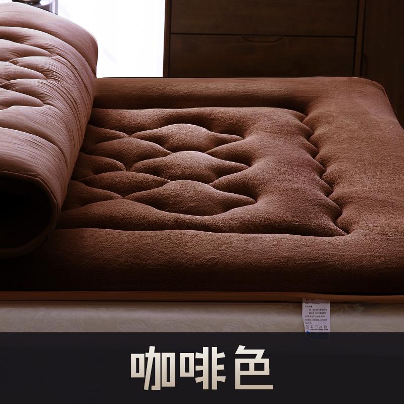 토퍼 템퍼 매트리스 침구 기타 침대 겨울 학생 기숙사 접이식 매트, AD_90x190cm
