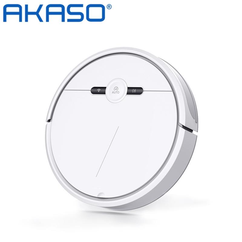 아카소 AKaso 스마트 로봇 물걸레 청소기 SD-1 로봇청소기, 하얀