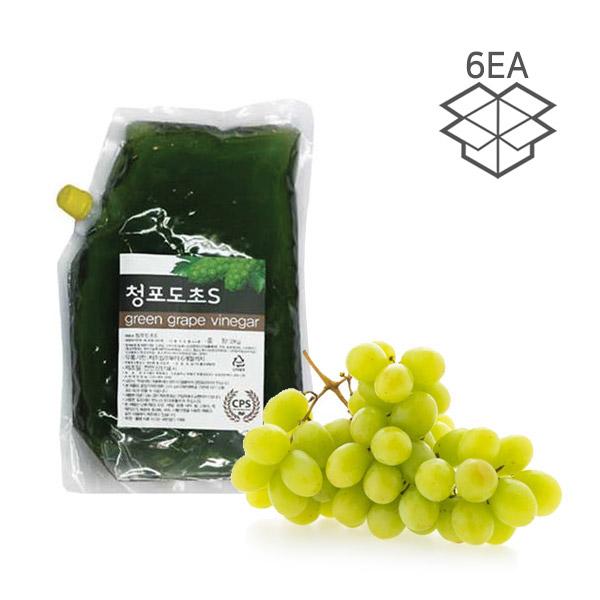카페플래닝 청포도초 (x6개 1박스) 청포도시럽 청포도 에이드 막걸리 2kg, 단일상품