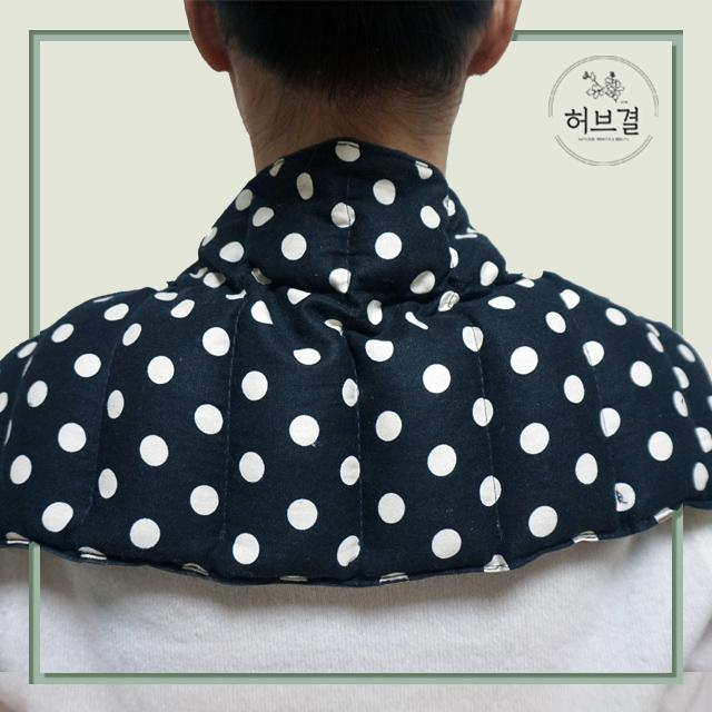 허브결 목어깨 다용도 허브 찜질팩, 오리지널(도트)