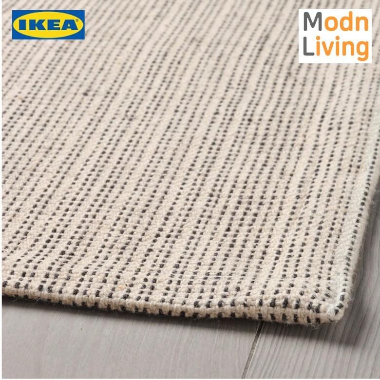 IKEA 이케아 TIPHEDE 팁헤데 평직러그 내추럴 오프화이트 120x180 cm
