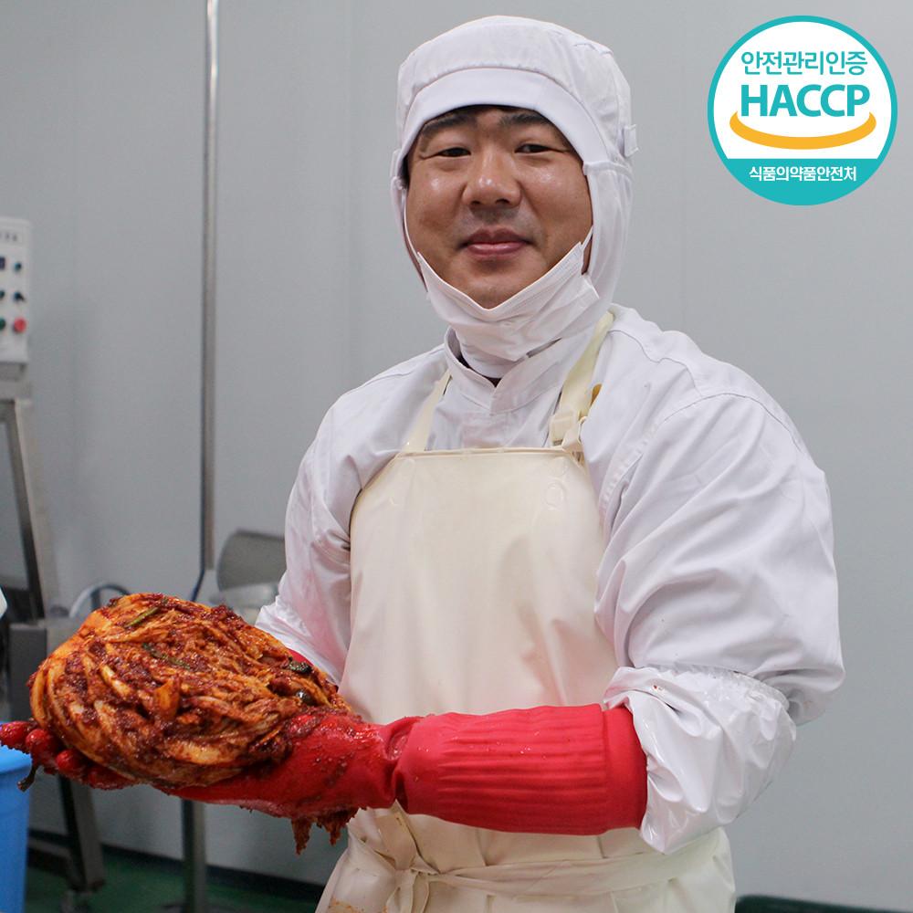 [무진식품] 전라도 배추김치 당일제조 100% 국산 김치, 3kg