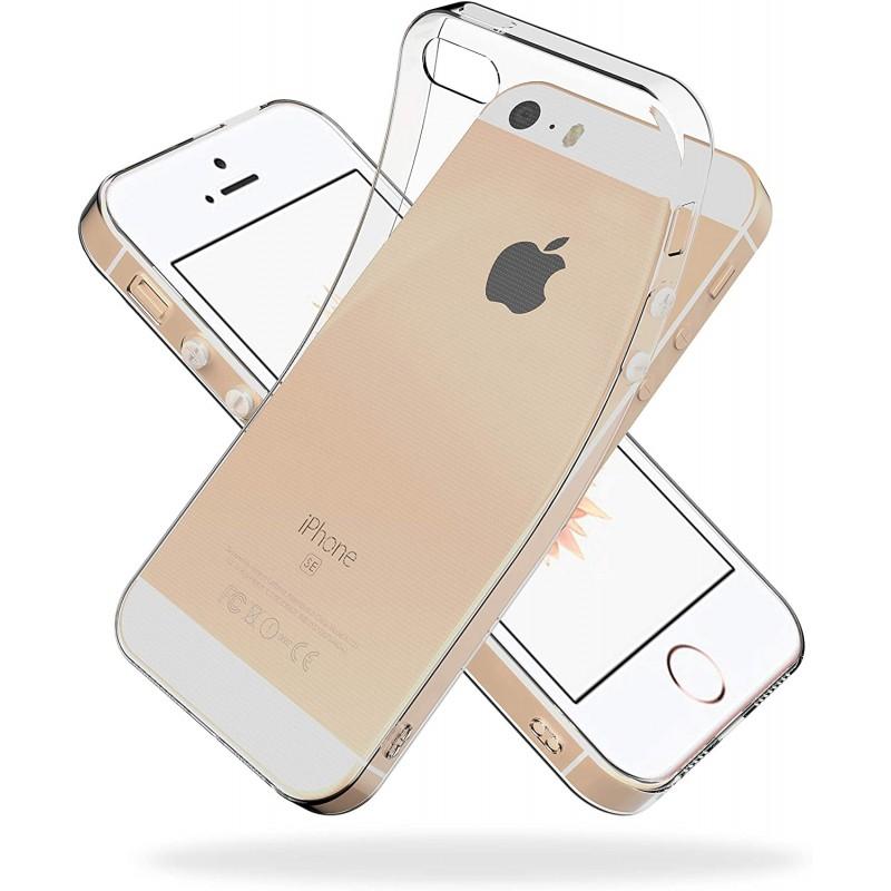 Youriad iPhone SE (2016) / 5S / 5 케이스 커버 SE 구형 1 세대 | 투명 클리어 소프트 커버 | 특징 경량, 1, 단일상품