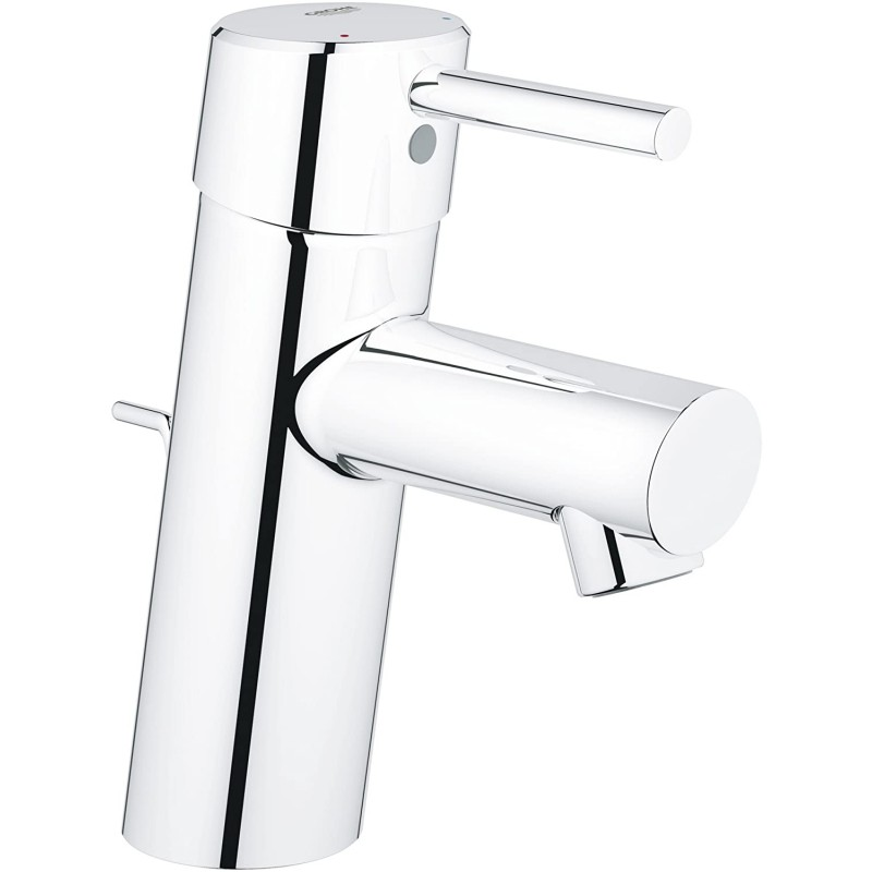 Grohe Concetto S-Size 싱글 핸들 싱글 홀 욕실 수전-1.2 GPM, 1