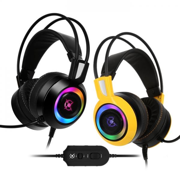 COX CH60 리얼 7.1 진동 RGB LED, 단일상품