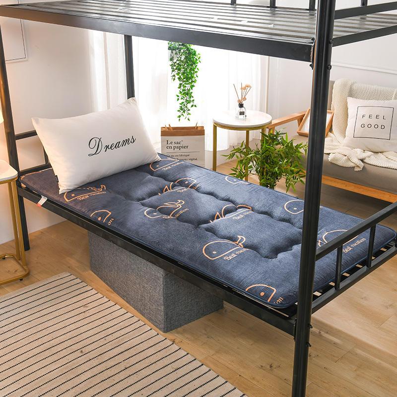 침대매트 두께추가침대 푹신매트 매트학생 기숙사 싱글 0.9미터 1.2m2층침대의위아래침대 요 1.5m이불 요커버, C04-150x200cm