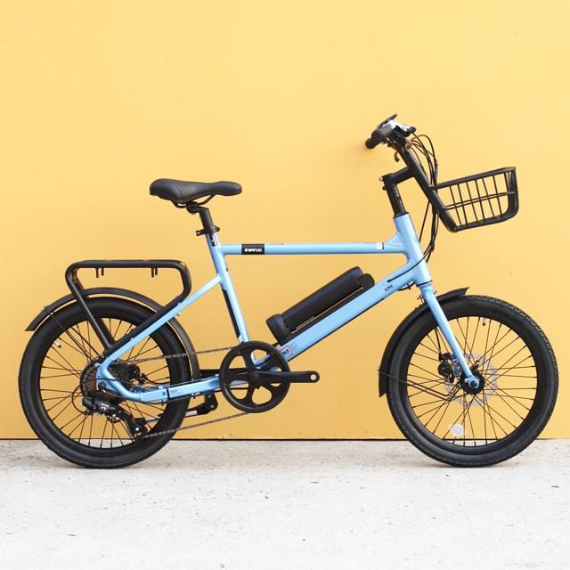 알톤 벤조20 전기자전거 2019년, 20인치/블루
