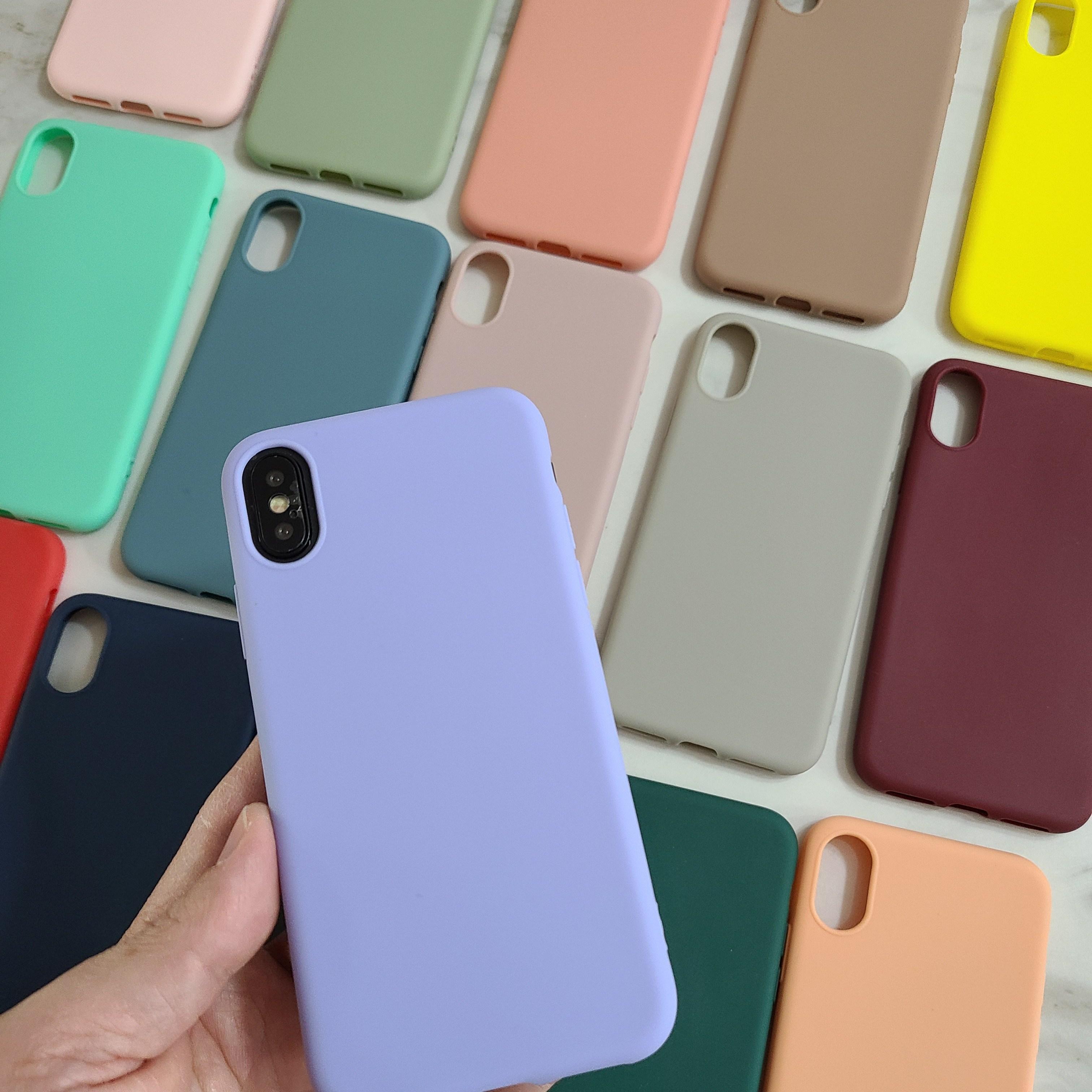 폰마트 아이폰실리콘케이스 아이폰11 아이폰12 아이폰8 아이폰XS 파스텔 범퍼케이스 골드강화유리필름+세트