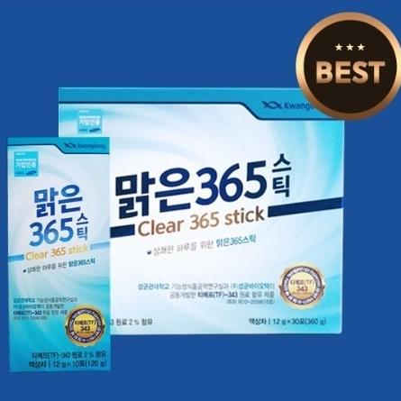 광동 맑은365 - 1개월분, 12g x 30포, 1box