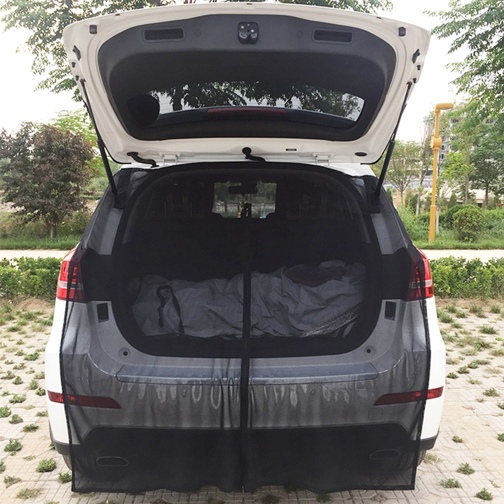 차박모기장 차량용 트렁크 자석 모기장 SUV 캠핑 방충망