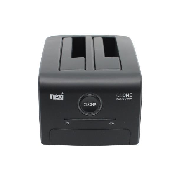 LK503 SSD HDD 백업 복제 USB3.0 하드도킹스테이션 블랙 외장하드 클론 하드복사기 독 2베이, 꾹요★<상품선택>★키