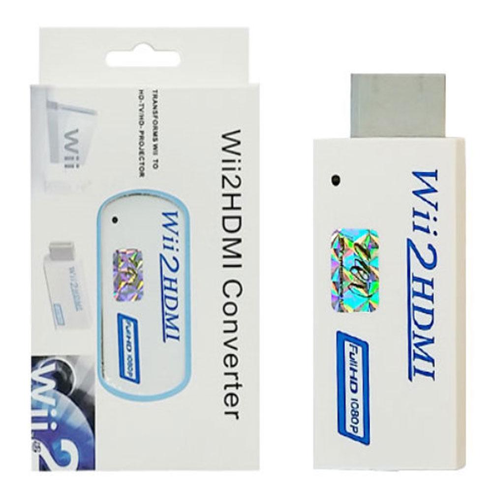 닌텐도 Wii HDMI 컨버터 위 업스케일링, 1개, 단일상품