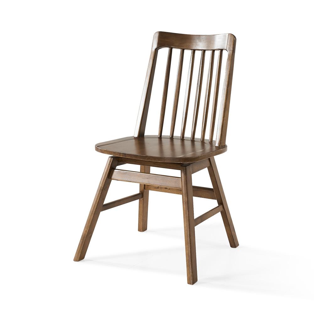 라로퍼니처 알토 회전 원목 식탁 의자 카페의자 인테리어의자, 단품