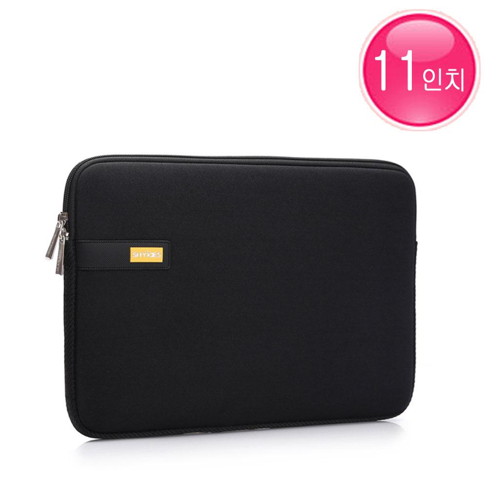 아이패드프로11 2세대 3세대 4세대 11인치 쿠션 파우치 가방 케이스, 블랙