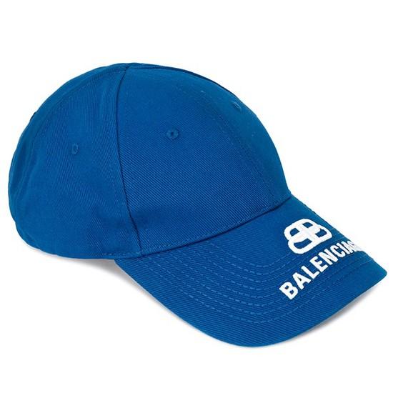 발렌시아가 20SS 블루 BB 바이저 볼캡 577548 310B2 4277