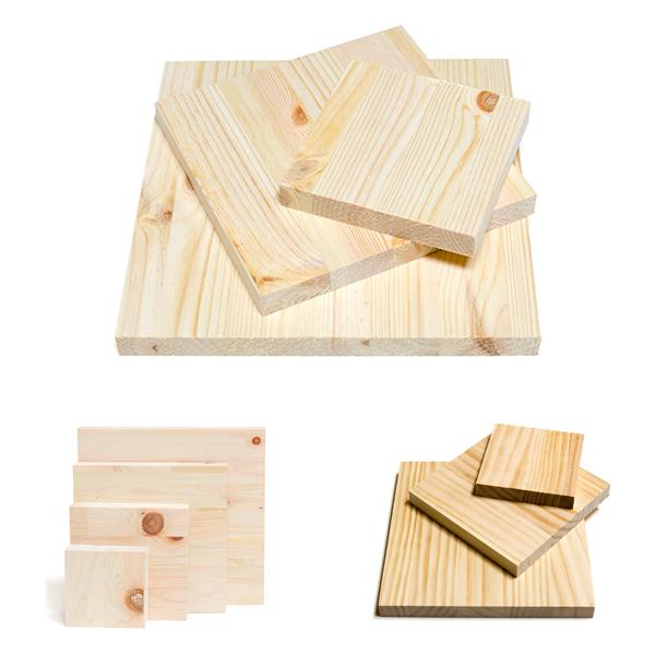 아이베란다 목재자투리모음 소품제작용 diy 삼나무 레드파인 판재, 8.자작나무합판 15T 100x100(6개)