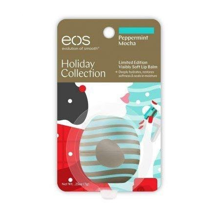 Eos Limited Edition Peppermint Mocha Lip Balm Sphere 0.8 Ounce PROD470039455, 상세 설명 참조0, One Color