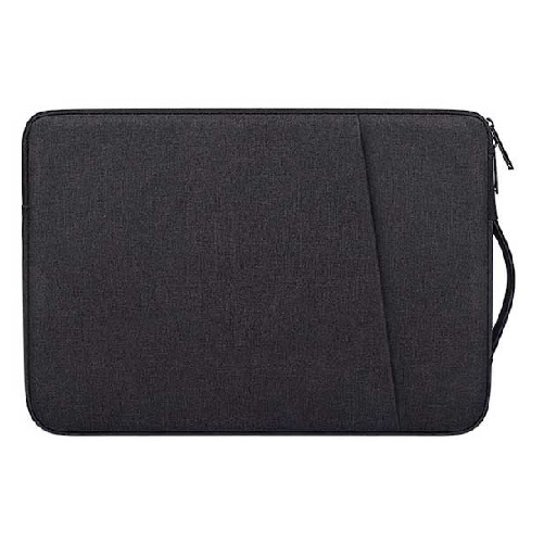 LG그램 맥북 17인치 16인치 15인치 14인치 13인치 파우치 노트북 케이스 손잡이 삼성 맥북프로 맥북에어 엘지그램, 블랙(A타입)