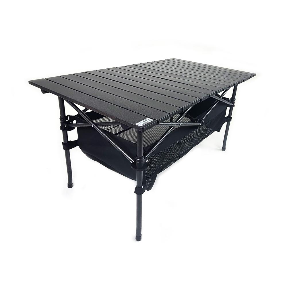 고르고 캠핑용품 쉬운설치 롤테이블 캠핑테이블 특대형