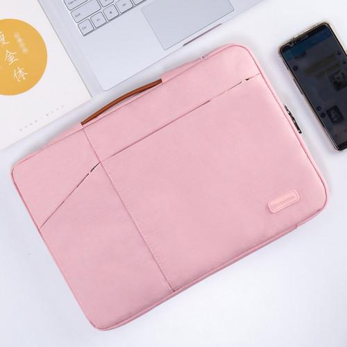 노트북 라이너 가방 레노버 15.6 인치 15 보호기 Y7000P Xiaoxin Air13 충격 방지 Pro13.3 보호 커버 14 가방 맥북 애플 맥 12 화웨이 ipad, 선택 = 13.3 인치 2 세대 휴대용 (분홍색)