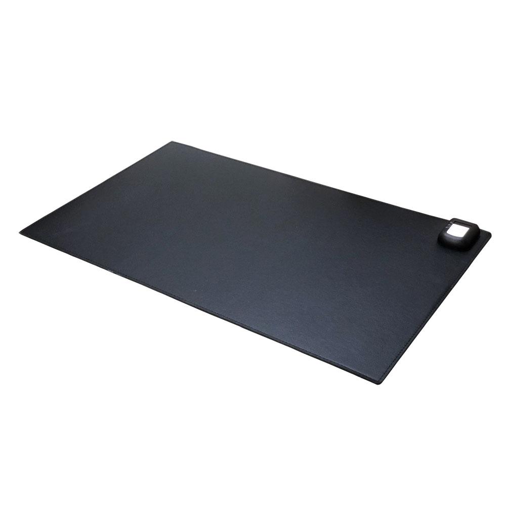 셀인스텍 온열 데스크매트 장패드 따뜻한 책상테이블 SE-M600, 블랙, 1개