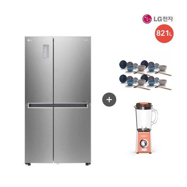 [LG전자] [821L] LG DIOS 매직스페이스 양문형 냉장고 메탈 (S831SS35), 상세 설명 참조