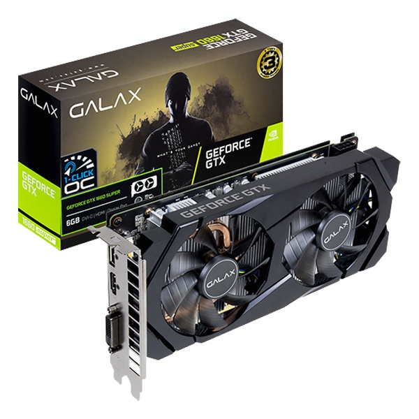 [3일이내출고][Galaxy] GeForce GTX 1660 SUPER OC D6 6GB, 단일옵션