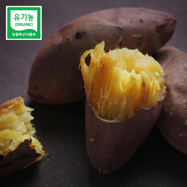 해든팜 무안 김현희님의 유기농 해수 한입 고구마 5kg, 단품