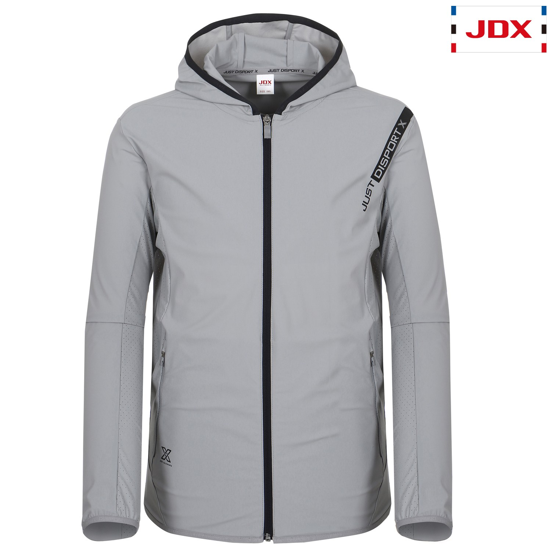 [JDX] 남성 여름 타공포인트 트레이닝점퍼 (SET)(X3PMWJM20GR), GR