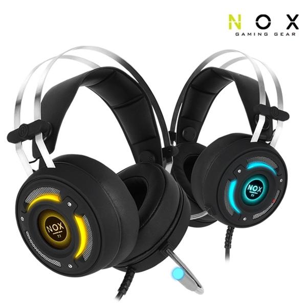 티앤에스인터내셔널 NOX NX-2 버추얼 7.1채널 진동 헤드셋 USB
