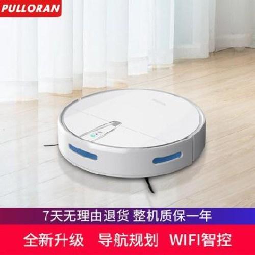 자동 물걸레 로봇청소기 진공청소기 풀로란 가정용 전자동 스마트플랜 어플의 원격지, 01 화이트 스마트