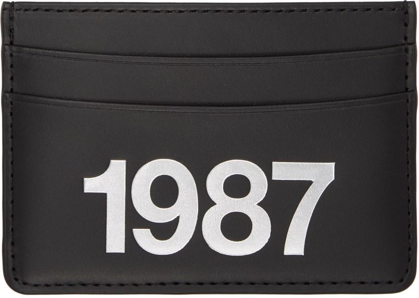 Black André '1987' Card Holder-SC5254181