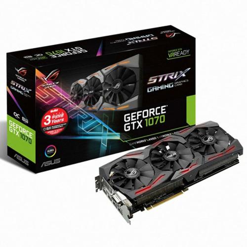 ASUS ROG STRIX GF GTX1070 O8G GAMING DDR5 8G 이엠텍, 단일상품