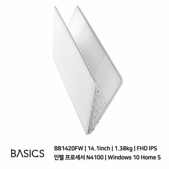 [K쇼핑]베이직스 베이직북14 2세대 BB1420FW-256GB_H [SSD 256GB/RAM 8GB], 상세페이지참조, 상세페이지참조