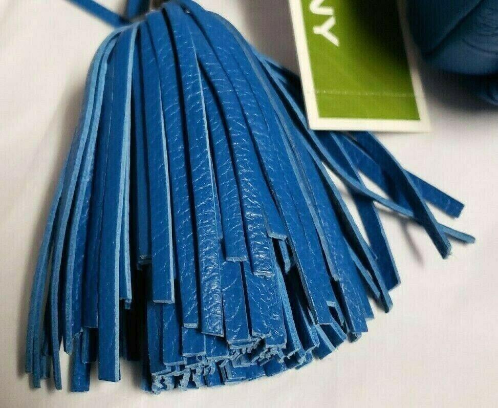 154170 오야니 가죽 블루 크로스백 미니 핸드폰 가방 지갑