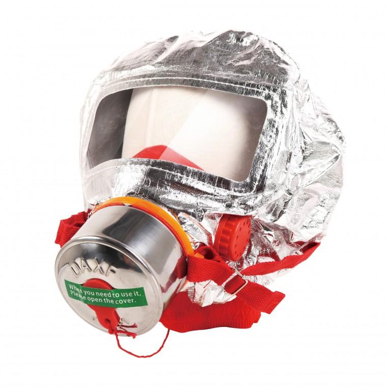 화재 마스크 유독가스 학교 사무실 회사 긴급 대피 방연 화재용 방독면 PQ-F119