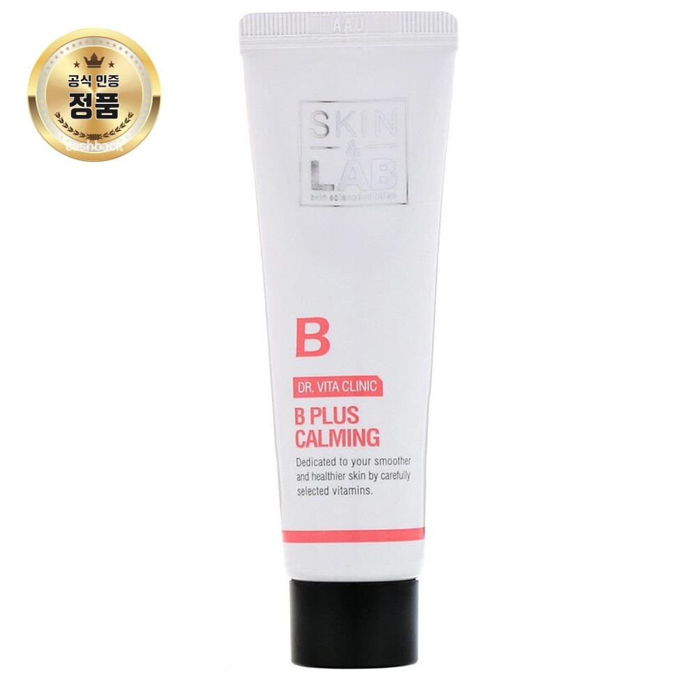 Skin&Lab Dr. 비타 클리닉 B 플러스 카밍 크림 비타민 30 ml, 샌드우드 오일