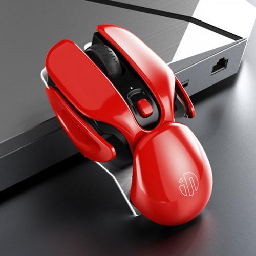 게임 마우스 인피크 PX2 충전식 무선 SF쿠현 크리에이티브 선물 남녀 생컴퓨터 사무용 탁상용 비디오 애플 맥화석 연상 노트, 본문참고, 선택 = 공상 과학 빨강 공식 표준