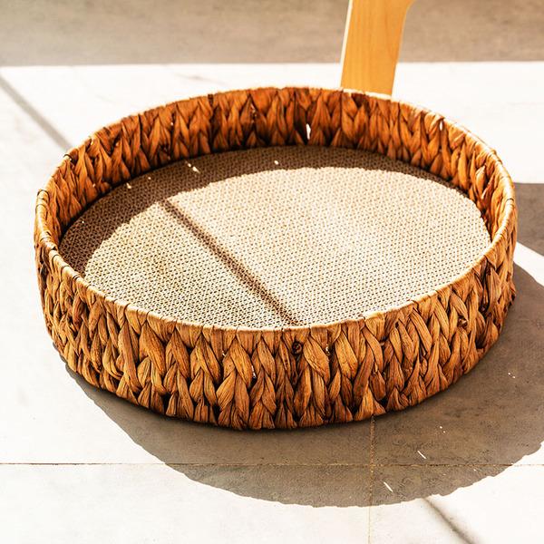 이케아캣타워 해먹 여름 흔들 내핑하우스 스타캣휠 고부해 고양이쳇바퀴 나무위의, 백단