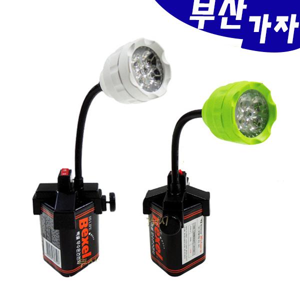 부산가자낚시-LED 십자집어등-볼락 갈치 집어등, 십자집어등 그린(SLP-1401)